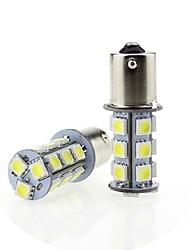 cheap -SENCART 2pcs 1156 Car Light Bulbs 3.5 W SMD 5050 320 lm 18 LED Brake Lights For