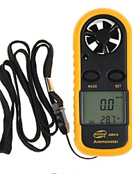cheap -BENETECH GM816 Digital Anemometer Thermometer Wind Speed Air Velocity Airflow Temperature Gauge Windmeter with LCD Backlight