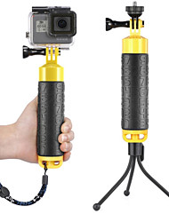 cheap -Telescopic Pole Floating Hand Grip Water-Repellent Anti-Shake Shock Resistant 1 pcs For Action Camera All Gopro Xiaomi Camera SJCAM Swimming Diving Surfing Rubber