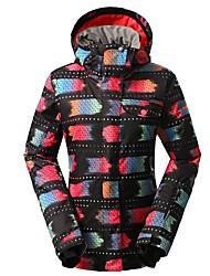 Недорогие -GSOU SNOW Жен. Лыжная куртка Лыжные очки Лыжи Зимние виды спорта Зимние виды спорта Полиэфир Верхняя часть Одежда для катания на лыжах / камуфляж