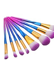 cheap -8pcs Makeup Brushes Professional Blush Brush / Eyeshadow Brush / Lip Brush Nylon fiber Full Coverage