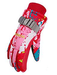cheap -Wild Snow Boys' Girls' Ski / Snowboard Hiking Ice Skating Windproof Breathable Warm Ski Wear / Winter / Kid's / Winter Gloves / Full Finger Gloves