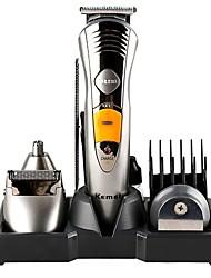 Недорогие -kemei km-580a электрические машинки для стрижки волос аккумуляторная машинка для стрижки волос для мужчин и женщин 220 В / 230 В новый дизайн / малошумный / ручной дизайн