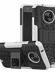 abordables -Coque Pour Motorola Moto X4 Avec Support Coque Armure Dur PC