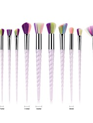 cheap -10pcs Makeup Brushes Professional Body Care / Blush Brush / Eyeshadow Brush Nylon fiber Full Coverage