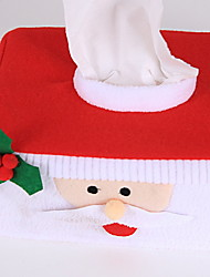 cheap -Pillow Cover Christmas Fabric Square Novelty Christmas Decoration