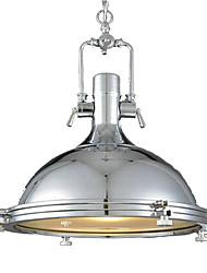 cheap -QINGMING® Mini Pendant Light Downlight Electroplated Painted Finishes Metal Glass Mini Style 110-120V / 220-240V