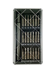cheap -New 22-in-1 precision aluminum alloy screwdriver set
