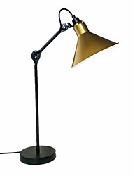 cheap -Artistic / Traditional / Classic Adjustable / New Design Table Lamp For Bedroom / Study Room / Office Metal 110-120V / 220-240V Black / Red / Yellow