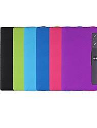 cheap -Case For Lenovo Lenovo Yoga Tab 3 Pro / Lenovo Yoga Tab 3 Plus 10.1(YT-X703) Shockproof / Ultra-thin Full Body Cases Solid Colored Soft Silica Gel