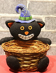 cheap -Holiday Decorations Halloween Decorations Halloween Entertaining Decorative Black 1pc