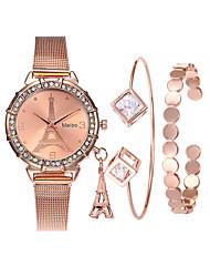 cheap -Women's Bracelet Watch Wrist Watch Diamond Watch Quartz Ladies Creative Analog Rose Gold Rose Gold / Silver Rose Gold / White