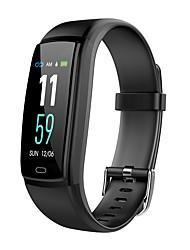 abordables -BoZhuo Y9-vo Unisexe Bracelet à puce Android iOS Bluetooth Imperméable Moniteur de Fréquence Cardiaque Mesure de la pression sanguine Calories brulées Enregistrement de l'activité Chronomètre