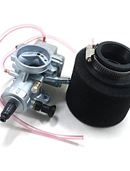 cheap -Molkt 28MM Carb 42MM Air Filter Set For 140 150 160CC Dirt Pit Bike ATV