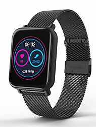 cheap -KUPENG R6-G Unisex Smart Bracelet Smartwatch Android iOS Bluetooth Waterproof Heart Rate Monitor Blood Pressure Measurement Touch Screen Calories Burned Pedometer Call Reminder Activity Tracker Sleep