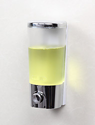 cheap -Soap Dispenser Premium Design / Cool Contemporary Chrome Finished 1pc Wall Mounted 380 ML
