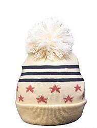 cheap -Toddler Unisex Active Striped Cotton Hats & Caps Camel M / L