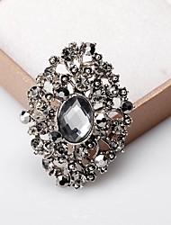 abordables -Femme Broche Classique Doux Mode Elégant Broche Bijoux Argent / Gris Pour Mariage Soirée