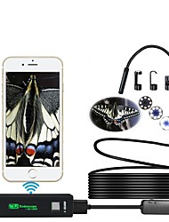 cheap -Wifi endoscope 1200P high definition 7m hard line mobile phone endoscope ios endoscope