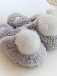 cheap -Women's Slippers House Slippers Casual Fabric Animal Print Shoes