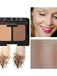 abordables -Une Couleur Sec Amincissant Bronzant # Mat Facile à transporter Soirée / Formel / Rendez-vous Maquillage Cosmétique