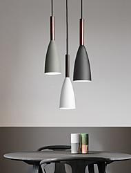 cheap -3-Light 28 cm Creative Pendant Light Metal Novelty Painted Finishes Contemporary Chic & Modern 110-120V 220-240V