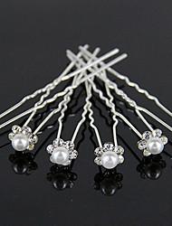 cheap -Crystal Hair Accessory with Rhinestone 10 Wedding Headpiece