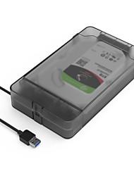 abordables -MAIWO USB 3.0 à SATA 3.0 Boîtier de disque dur externe Prêt à l'emploi / Installation sans outil / Léger et pratique / avec indicateur LED 8000 GB K10435