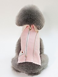 cheap -Dog Cat Coat Dress Bowknot Casual / Daily Dog Clothes Puppy Clothes Dog Outfits Blue Pink Costume for Girl and Boy Dog Fabric XS S M L XL XXL