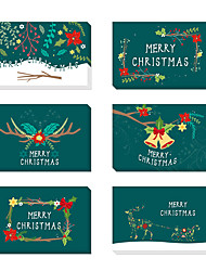 cheap -Thank You Cards Card Paper Wedding Decorations Christmas / Party / Evening Christmas / Creative / Vintage Theme All Seasons
