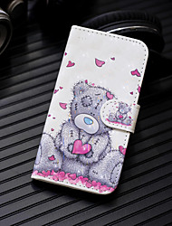 cheap -Case For Huawei Huawei P20 / Huawei P20 Pro / Huawei P20 lite Wallet / Card Holder / with Stand Full Body Cases Heart / Animal Hard PU Leather / P10 Lite