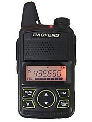 cheap -Baofeng® BF-T1 Walkie Talkie Handheld 3KM-5KM 20 1 W Two Way Radio