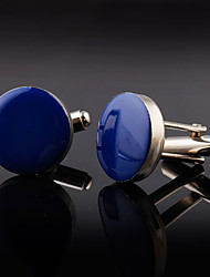 cheap -Cufflinks Metallic Classic Alloy Brooch Jewelry Black Blue For Work