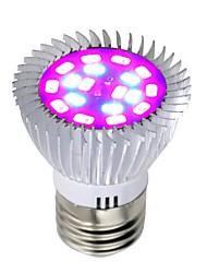 cheap -Grow Light LED Plant Growing Light Bulb 85-265V 8W 640 lm E26 / E27 18 LED Beads SMD 5730 Full Spectrum Red Blue Indoor Plants Growbox Greenhouse
