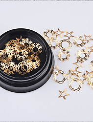 cheap -1 pcs Classic / Slim design Metal Alloy Sequins For Finger Nail Classic Theme Holiday nail art Manicure Pedicure Christmas / Daily Vintage / Korean