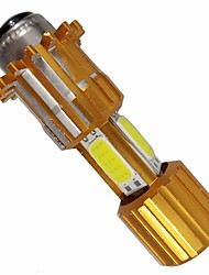 cheap -OTOLAMPARA 1 Piece H6 Motorcycle Light Bulbs 30 W COB 2400 lm 3 LED Motorcycle Lighting For Motorcycles Universal All years
