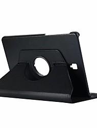Недорогие -Кейс для Назначение SSamsung Galaxy Tab S4 10.5 (2018) Поворот на 360° / со стендом / Флип Чехол Однотонный Твердый Кожа PU