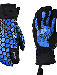 cheap -Sports Gloves Winter Gloves Ski Gloves Men's Women's Snowsports Full Finger Gloves Winter Waterproof Windproof Rain Waterproof Oxford Cloth Superfine fiber Skiing Snowsports Snowboarding