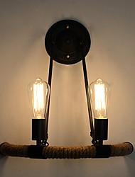 abordables -Rétro / Vintage Chambre à coucher / Magasins / Cafés corde de chanvre Applique murale 110-120V / 220-240V