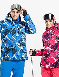 cheap -Vector Women's Ski Jacket Skiing Camping / Hiking Snowboarding Windproof Rain Waterproof Warm POLY Jacket Down Jacket Top Ski Wear / Winter