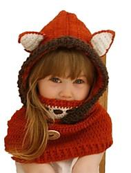 cheap -Toddler Girls' Sweet Animal Cotton Hats & Caps Red M