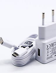 cheap -Home Charger USB Charger US Plug / EU Plug with Cable / Charger Kit 1 USB Port 2 A 100~240 V for S7 Active / S7 edge / S7