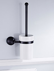 cheap -Toilet Brush Holder New Design / Cool Modern Brass 1pc Wall Mounted