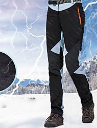 cheap -Women's Ski / Snow Pants Skiing Snowboarding Winter Sports Thermal Warm Waterproof Waterproof Zipper 100% Cotton Chenille Polyster Bib Pants Ski Wear