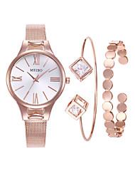 cheap -Women's Bracelet Watch Wrist Watch Gold Watch Quartz Ladies Analog Rose Gold Rose Gold / Silver Rose Gold / White