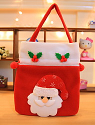 cheap -Gift Bags Christmas Fabric Square Novelty Christmas Decoration