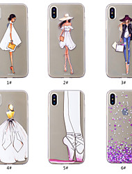cheap -Case For Apple iPhone XS / iPhone XR / iPhone XS Max Pattern Back Cover Heart / Sexy Lady Soft TPU
