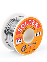 cheap -High Quality 63/37 Rosin Core Solder Wire Flux 2% Tin Lead Solder Iron Welding Wire Reel 0.5mm 100g B-2