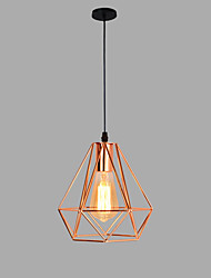 Недорогие -20 cm Подвесные лампы Металл геометрический Золотой Современный / Художественный AC100-240V