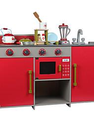 Недорогие -Игрушка кухонные наборы Ролевые игры Play Kitchen Универсальные Мальчики Девочки Удобный Взаимодействие родителей и детей Веселая Детские